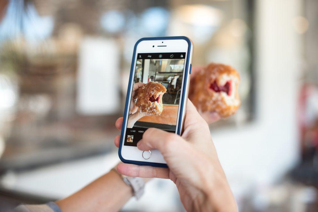Se comparer et montrer ses meilleurs moments sur instagram...